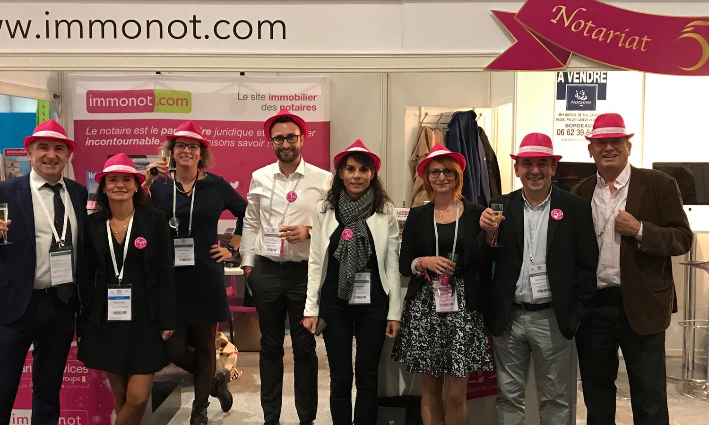 L'équipe immonot au congrès des notaires de Lille