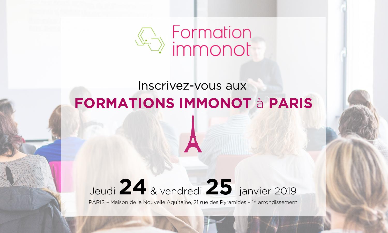 Formez-vous en novembre à Paris