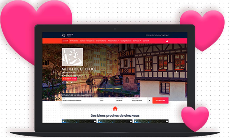 Un nouveau modèle de site internet pour traiter vos clients avec ÉLÉGANCE
