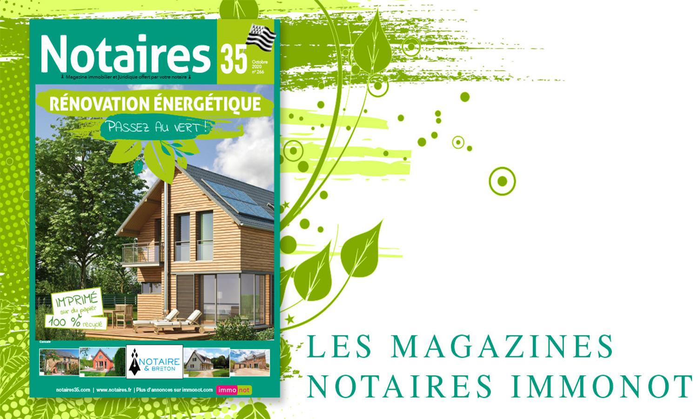 Magazine des notaires : les nouvelles
