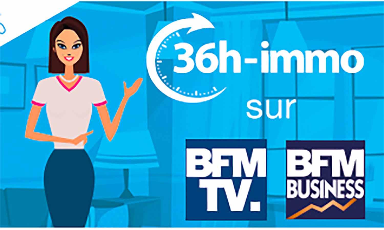 Nouvelle campagne télé pour 36h immo, la solution innovante d'Immonot