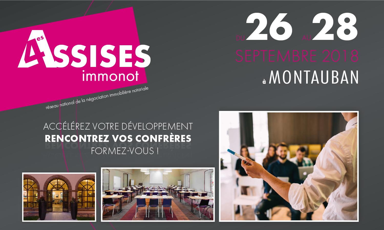 Les 4es Assises immonot en septembre à Montauban